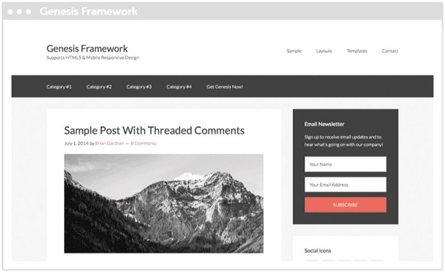 Genesis WordPress Theme 01