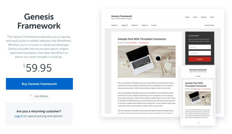 Genesis WordPress Theme 02