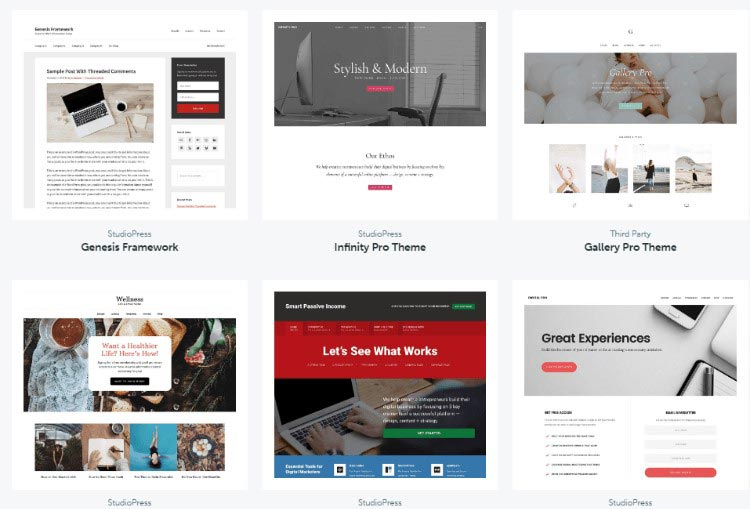 Genesis WordPress Theme 010