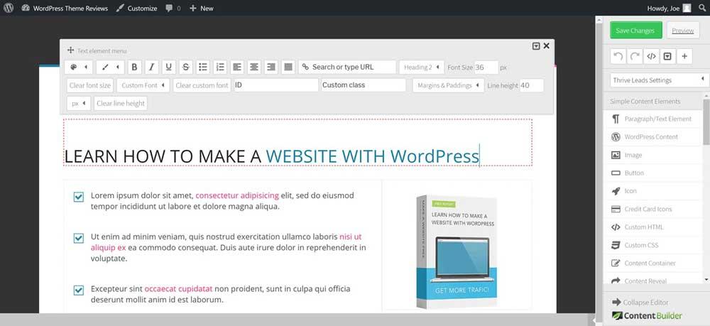 Thrive Theme WordPress 016