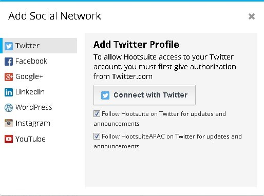 Hootsuite Social Network