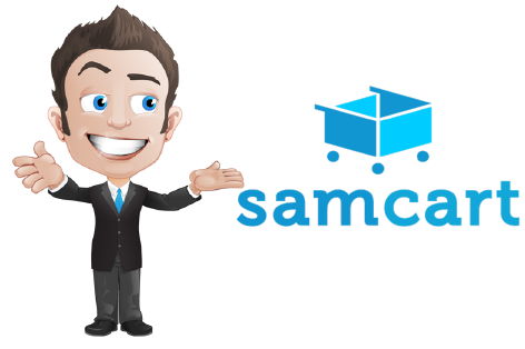 Giveaway Real Samcart Landing Page Software